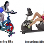 Difference between Spin Bike and Recumbent Bike