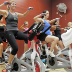 spinning workout class