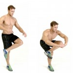stretch before a spin bike workout